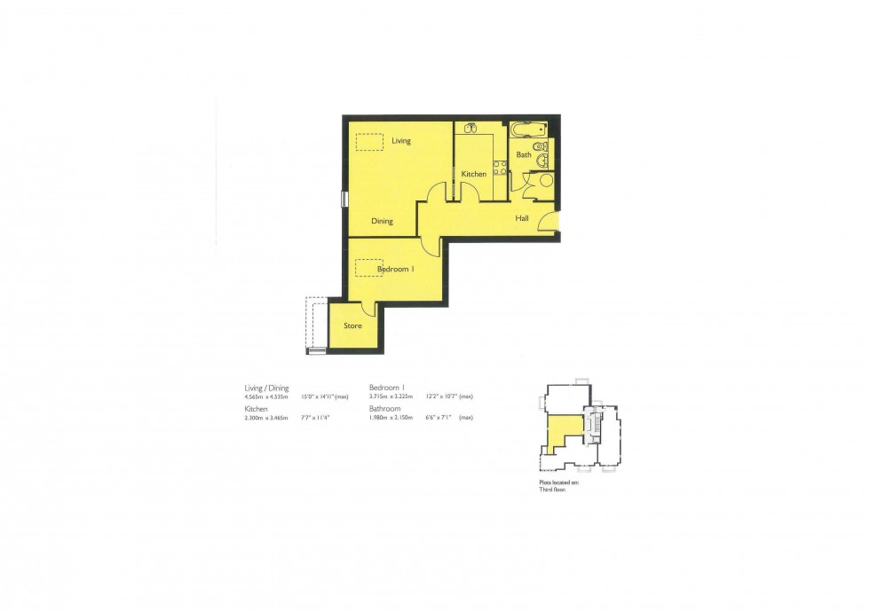 Floorplan for Off Ruff Lane, Ormskirk